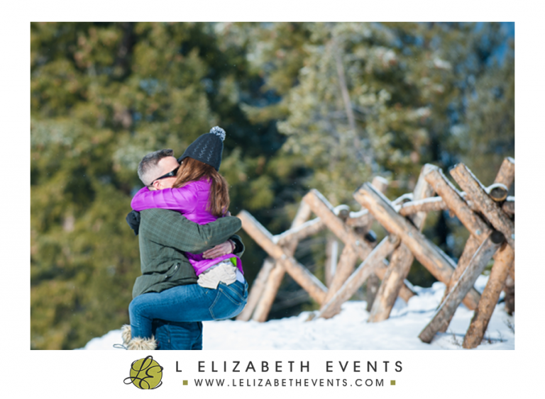 colorado proposal photography in breckenridge by L Elizabeth Events, mountain winter proposal, she said yes