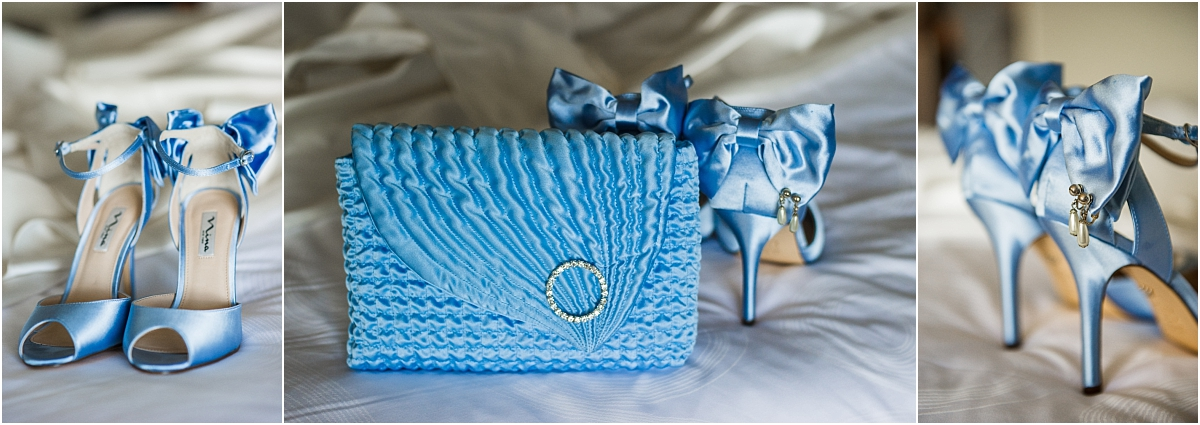 blue purse, blue shoes, something blue, detail photo, wedding day, l elizabeth events, wedding planner, denver colorado city wedding