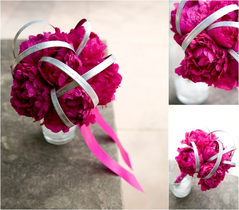 floral detail, fuchsia and white, decor, colorado wedding photographer